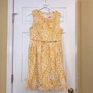 Eliza J Yellow Dress